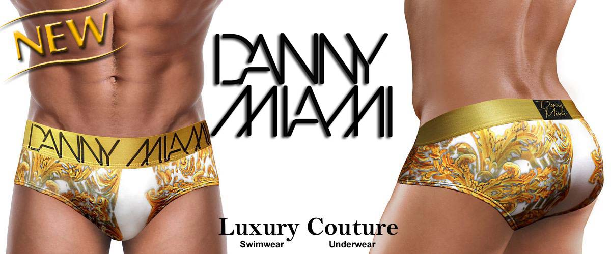 Danny Miamai - Swimwear und Underwear - Luxury Men Couture!