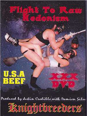 Flight To Raw Hedonism DVD (Front Cover)