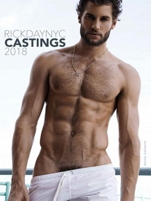 RickDayNYC Castings 2018 Calendar (Front Cover)