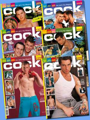 Cock Magazine Subscription 6 Issues (Front Cover)