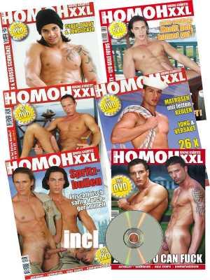 HOMOH XXL -  Gaymagazin plus Gratis DVD. Europas Schärfstes Schwulenmagazin! Abo 6 Ausgaben.