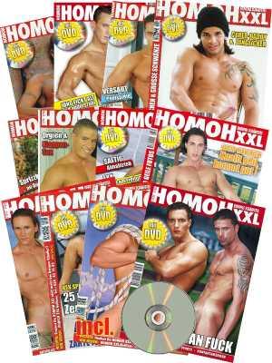 HOMOH XXL -  Gaymagazin plus Gratis DVD. Europas Schärfstes Schwulenmagazin! Abo 12 Ausgaben.