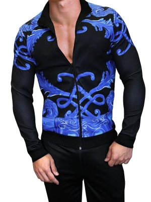 Danny Miami Crown Blue Tracksuit Multi (Front Cover)