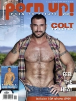 PornUp 105 Magazine + Colt Quenched DVD