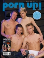 PornUp 127 Magazine + Darkroom Twinks (Young Bastards) DVD