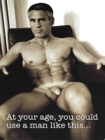 At your age Greeting Card