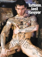 Happy Birthday - Tattoos last forever Greeting Card
