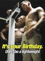 Birthday: Don`t be a lightweight Greeting Card