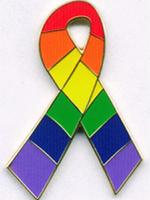 Pin Regenbogen / Rainbow Fancy Ribbon