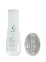 FunZone Release Vibrating Tight Ass Stroker, Clear