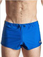 GB2 Jens Athletic Mesh Shorts Blue/Yellow