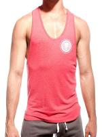Supawear Sports Club Singlet Tank Top Red Marle