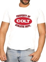 COLT T-Shirt Property of Colt Tee Shirt White