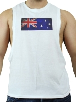 GB2 C Muscle Australia T-Shirt White