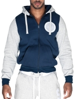Supawear Sports Club Varsity Hoodie T-Shirt Navy