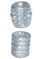 Oxballs Slug 1 Ball Stretcher 54 mm Silver