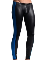 Manstore Tight Leggings M604 Underwear Black/Royal