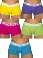 Rounderbum Bright Lift My Day 5-Pack Underwear Multicolor