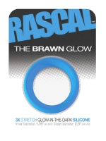 The Brawn Glow Cockring Blue (Rascal Toys)