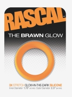 The Brawn Glow Cockring Orange (Rascal Toys)