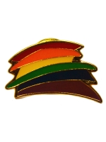 Pin Rainbow Stripes