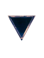 Pin Black Triangle Large