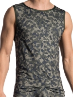 Olaf Benz Tank Top RED1706 Camouflage