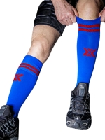 BoXer Football Sox One Size Royal Blue/Red