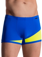 Olaf Benz Casualpants RED1715 Underwear Blue/Lemon