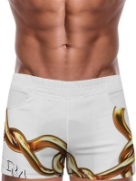 Danny Miami Links Beach Shorts White