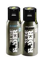 RudeRider Test Pack (30ml Aqua + 30ml Silicone)