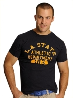 GBGB T-Shirt L.A. State Athletic Dept. Navy