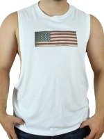 GB2 C Muscle USA T-Shirt White