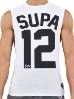 Supawear Team Supa Tank Top White