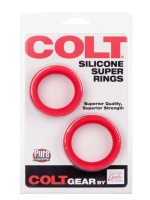 Colt Silicone Super Rings 2-Set Red