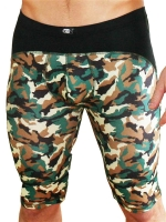 GB2 Lanz Training Trunk Underwear Camo/Black