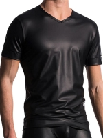 Manstore V-Neck Tee T-Shirt Regular M510 Black
