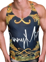 Danny Miami Crown Black Tank Multi