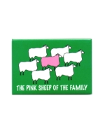 Pink Sheep Of The Family Magnet
