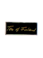Pin Tom of Finland Signature
