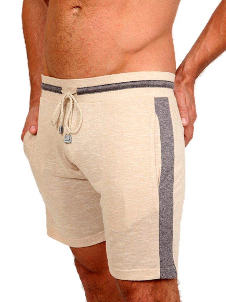 pistol pete sanddune jam shorts khaki beige m nner. Black Bedroom Furniture Sets. Home Design Ideas