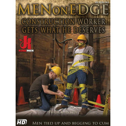 Construction Worker Gets What He Deserves DVD (Men On Edge) (15917D)