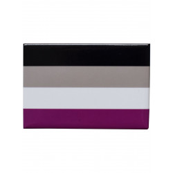 Asexual Flag Magnet (T5132)