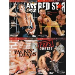 Raging Stallion 3 4-DVD-Pack (16073D)