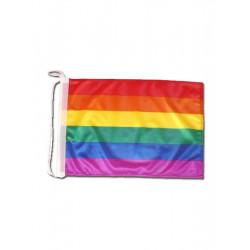 Boat Flag Rainbow Gay Pride (T0230)