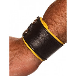 Colt Leather Wrist Wallet Yellow (T0947)