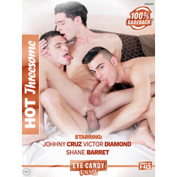 Hot Threesomes DVD (Eye Candy Films) (15908D)
