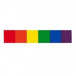 Rainbow Aufkleber / Sticker 1,9 x 9,5cm / 0.7 x 3.7 inch (T1041)