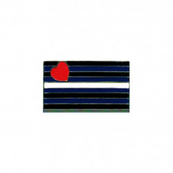 Pin Leather Pride Flag (T1056)