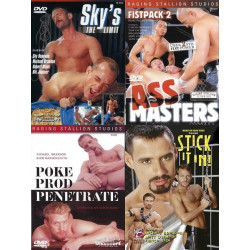 Raging Stallion 5 4-DVD-Pack (16075D)